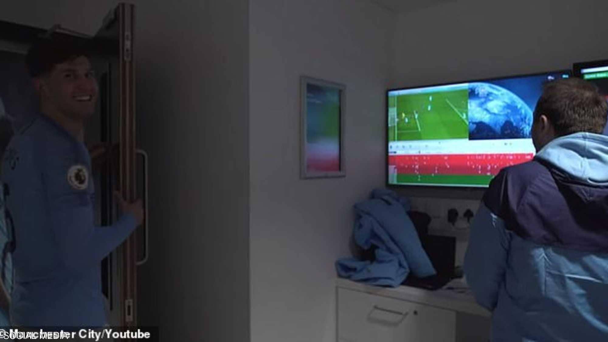 هذا ما فعله لاعبو مانشستر سيتي بعد الفوز على ليفربول