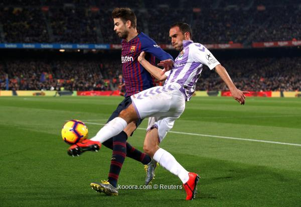 ميسي يقود برشلونة لفوز صعب على بلد الوليد