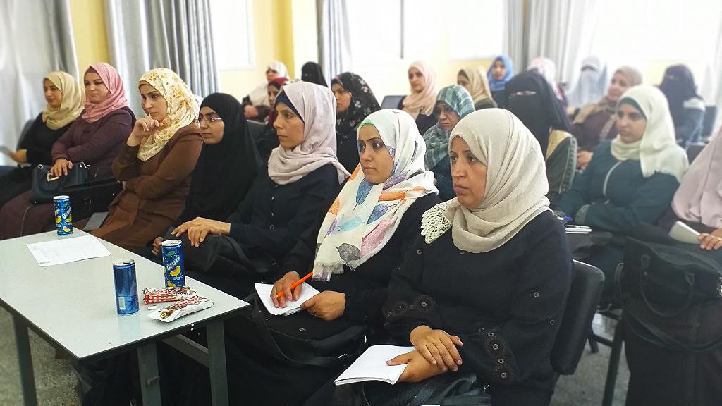 لقاء توعوي بمديرية شمال غزة حول التغذية السليمة في رياض الأطفال