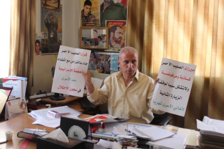 قرار الصليب الأحمر تواطؤ جديد مع الاحتلال