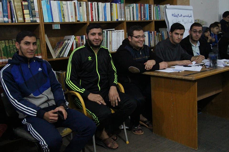 الكتلة الإسلامية تنظم مسابقة ثقافية بالنصيرات
