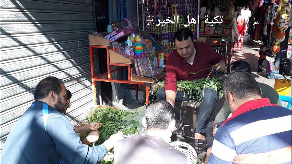 تكية الخير بالنصيرات.. وجهة دائمة لفقراء المخيم