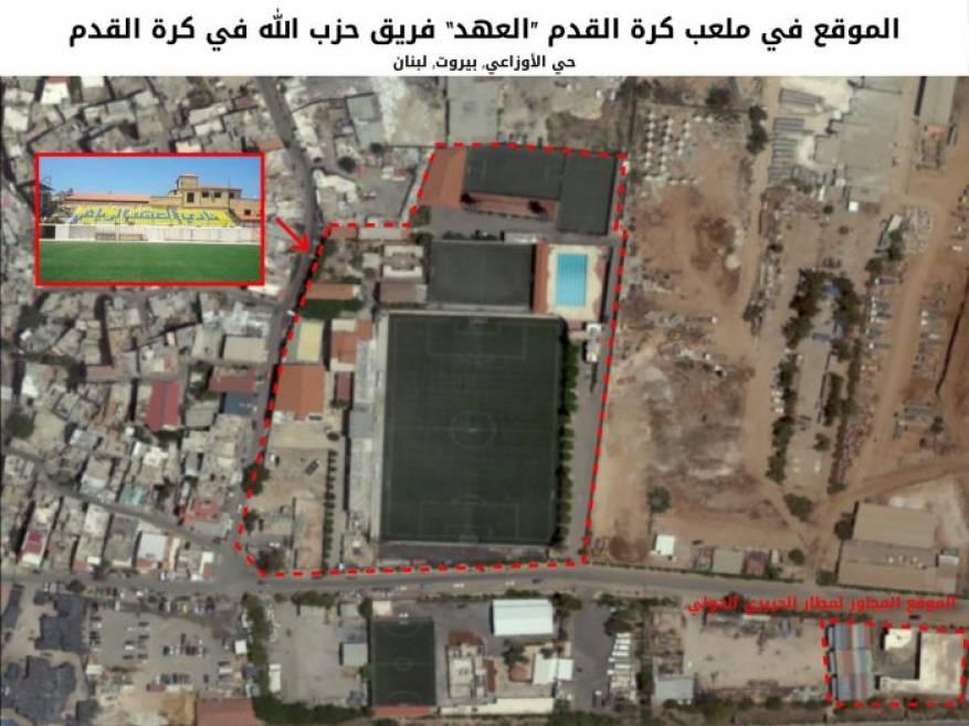 """""""إسرائيل"""" تكشف عن مواقع صواريخ حزب الله"""