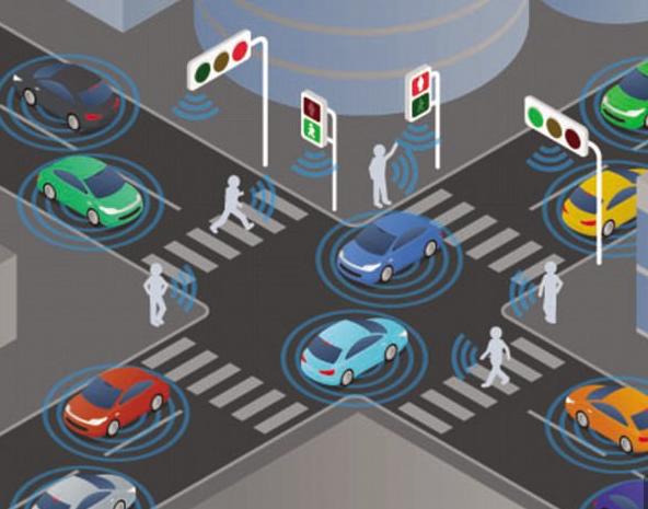 إشارات مرور ذكية تتواصل مع السيارات للقضاء على الزحام
