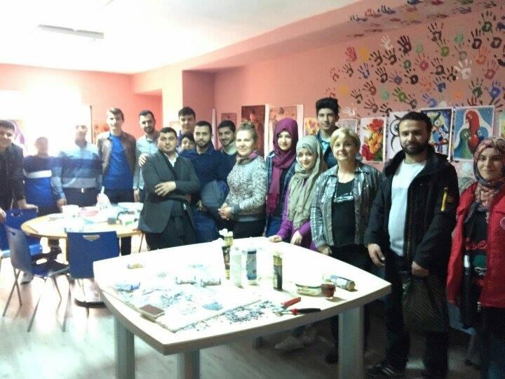 وفد شبابي فلسطيني يختتم زيارته لوزارة الشباب والرياضة التركية