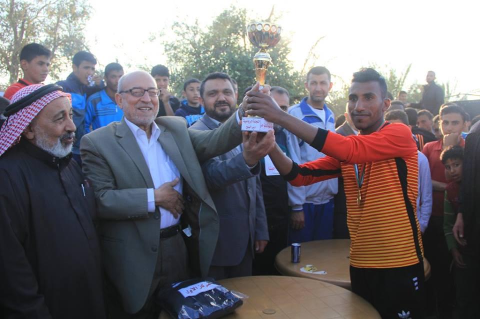 حماس تنظم ماراثونًا رياضيًا بدير البلح