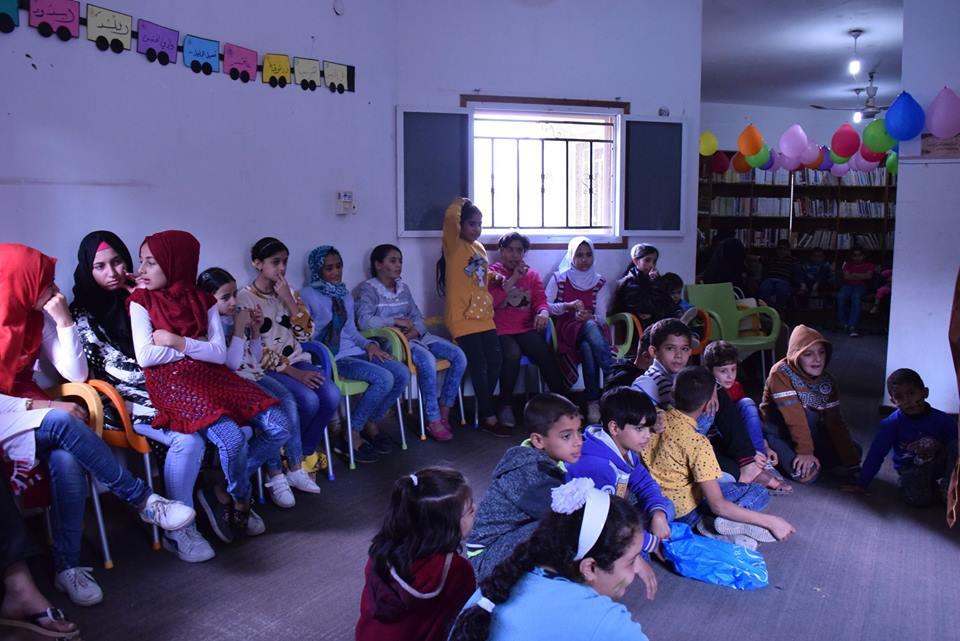 طلاب دار المعرفة يزورون مكتب الشهيد خالد الحسن بالنصيرات