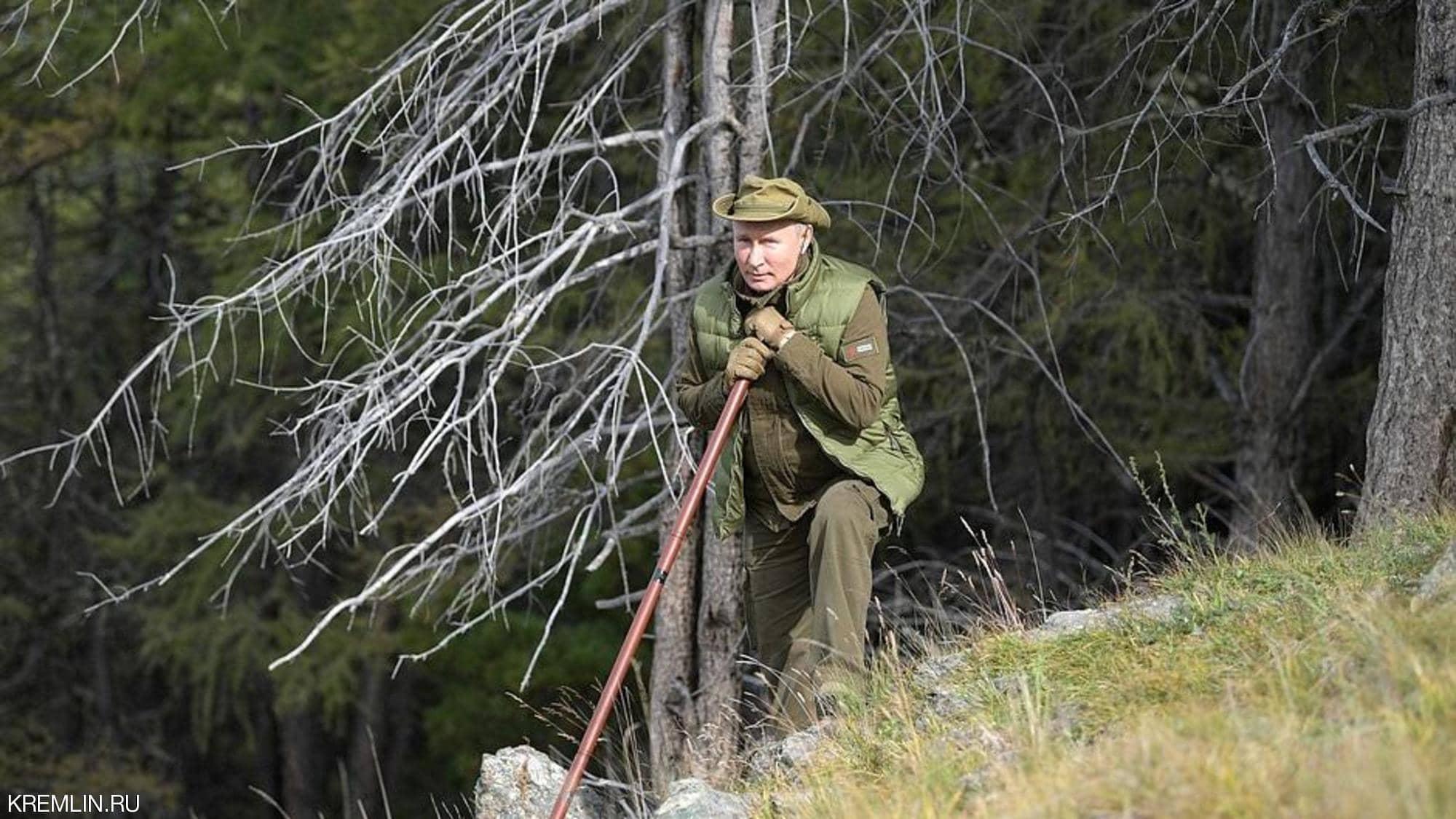 """بوتين يحتفل بعيد ميلاده """"بعيدا عن الضوضاء"""""""