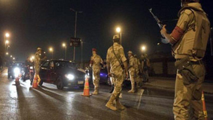 مصرع 16 وإصابة 15 آخرين في حادث كمين حظر التجول بالجيزة