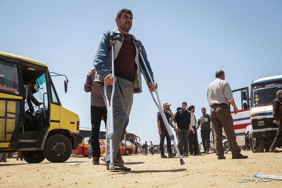 زحوفُ العودة تتوافدُ شرق غزة والاحتلالُ يستهدفها