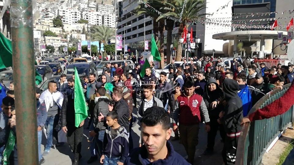 مسيرات حاشدة بالقدس ولضفة وغزة نصرة للقدس