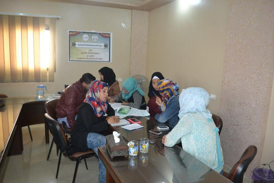 جمعية الملتقى التربوي تختتم دورة في السلامة والصحة المهنية