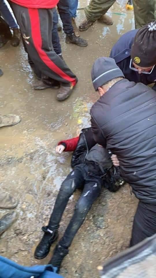 الإعلان عن وفاة الطفل أبو ارميلة