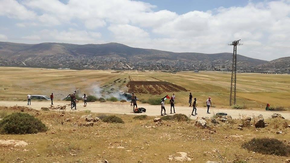 إصابات خلال مواجهات بمسيرات داعمة للأسرى في الضفة وغزة