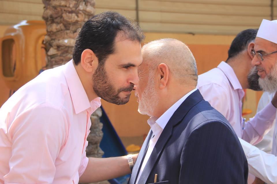 حماس في دير البلح تنظم لقاء تهنئة للحجاج