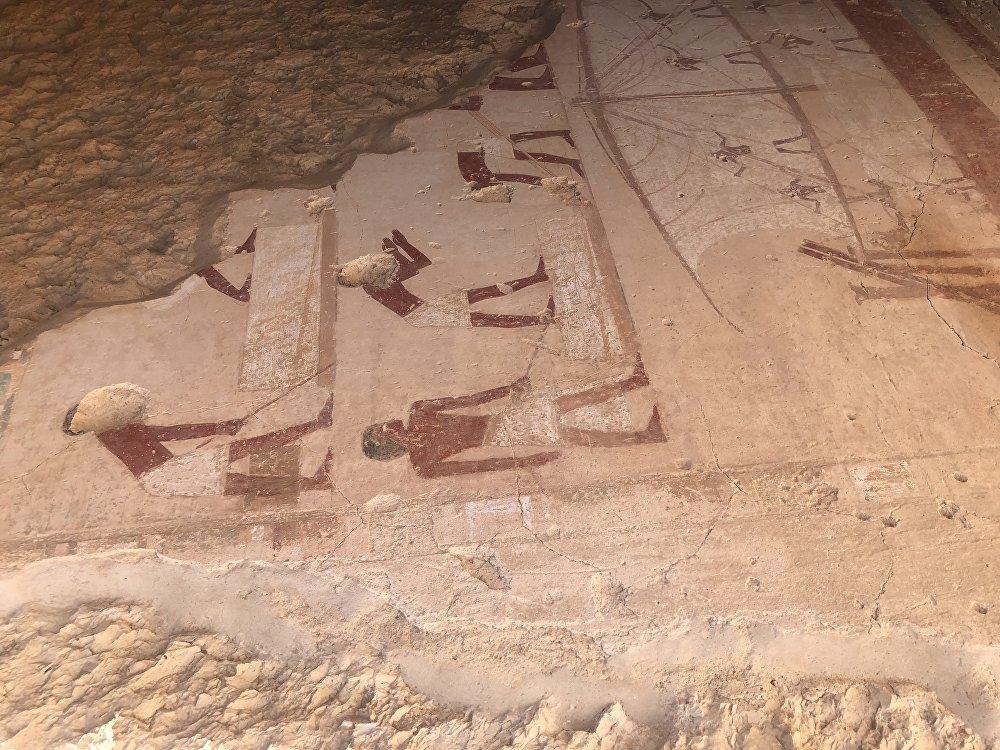 الكشف عن 3 مقابر في مصر تعود للأسرة الـ18 منذ نحو 3500 سنة
