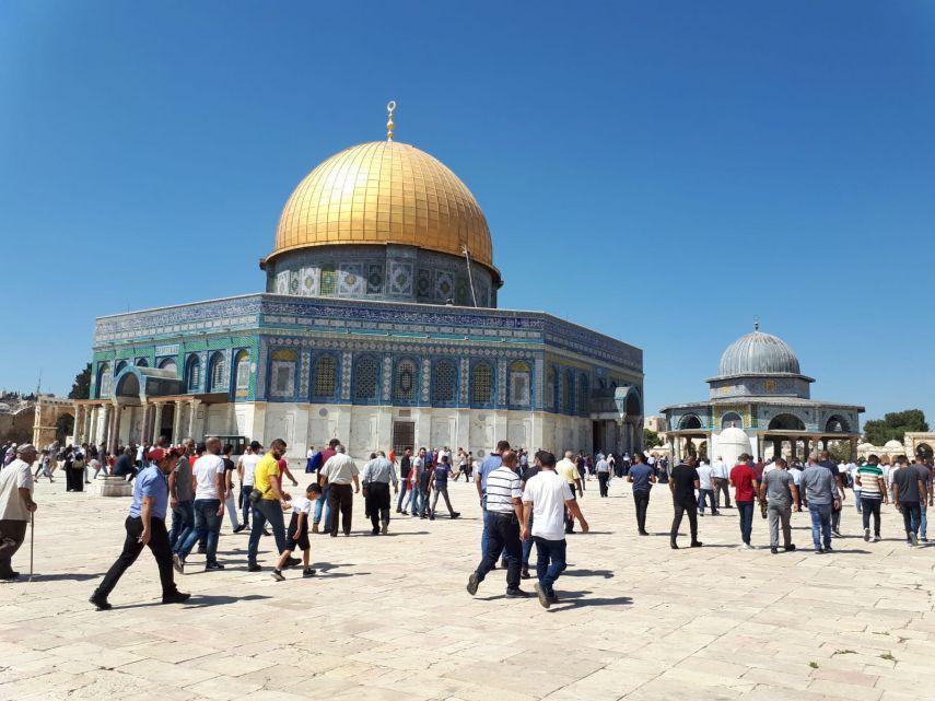 مفتي القدس: المساس بالأقصى سيقودنا حتما الى نتائج لا تحمد عقباها