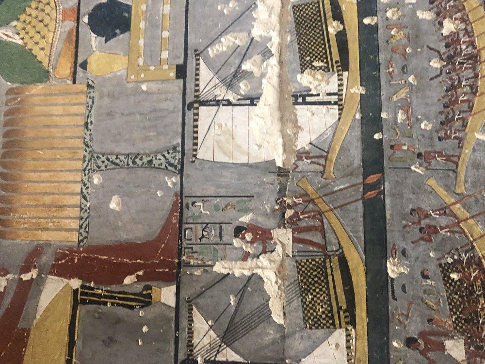 كشف تفاصيل مقبرة فرعونية عمرها 4400 عام