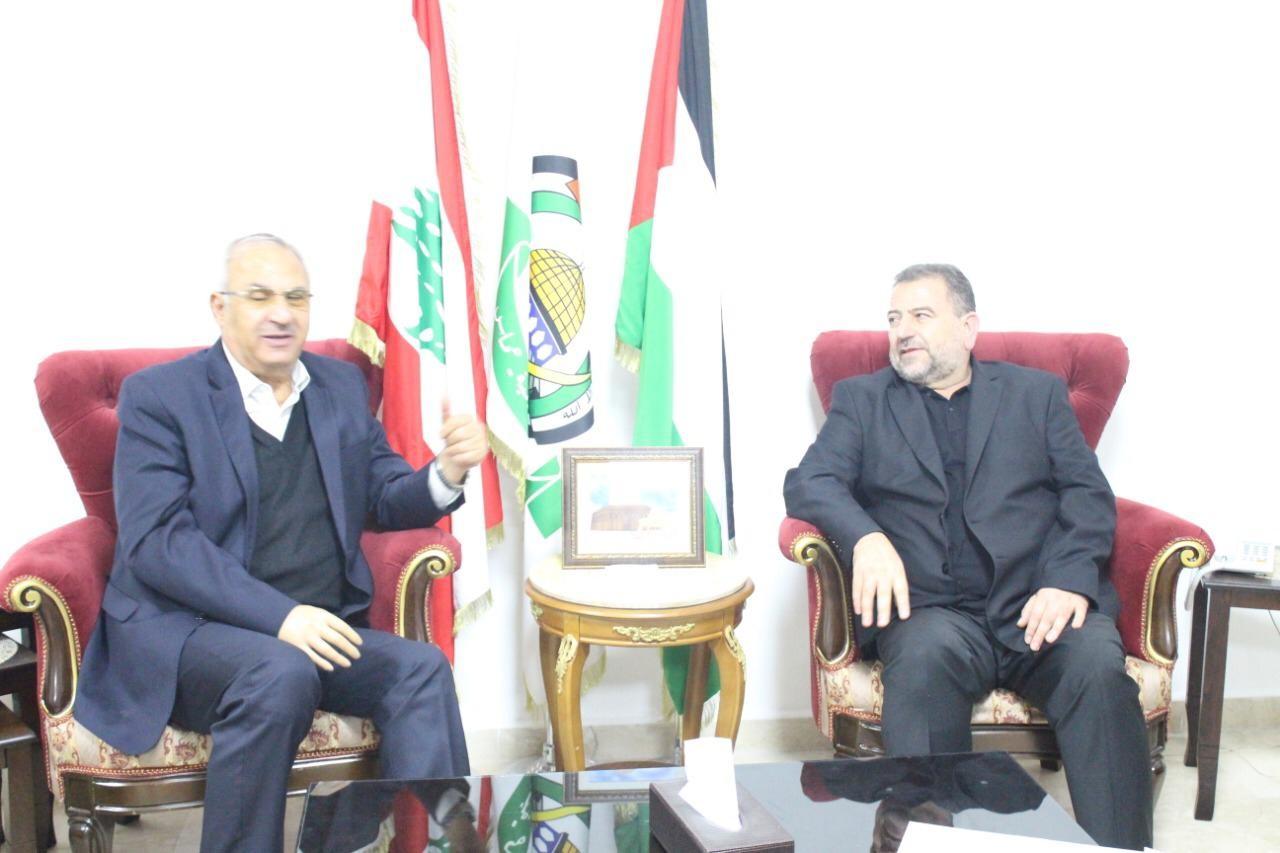 وفد قيادة حماس يلتقي الفصائل الفلسطينية في بيروت