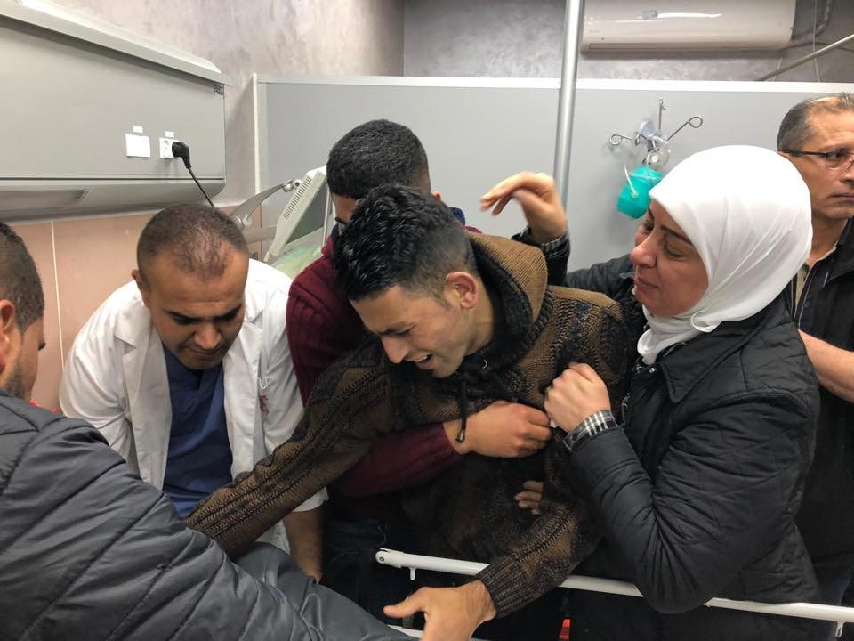 شهيد وإصابات برصاص الاحتلال شرق رام الله
