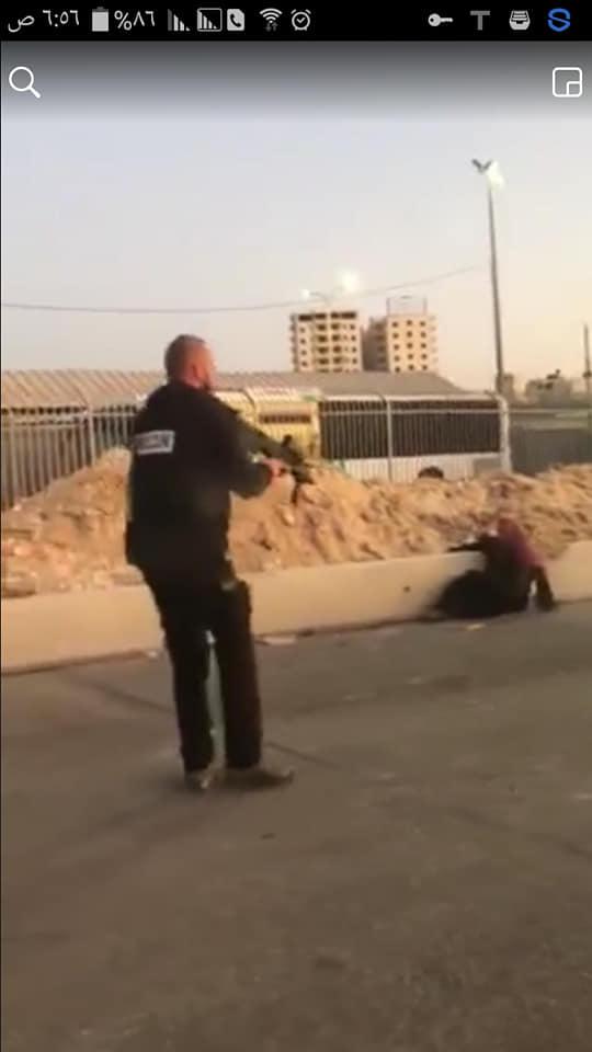 استشهاد سيّدة برصاص الاحتلال على حاجز قلنديا