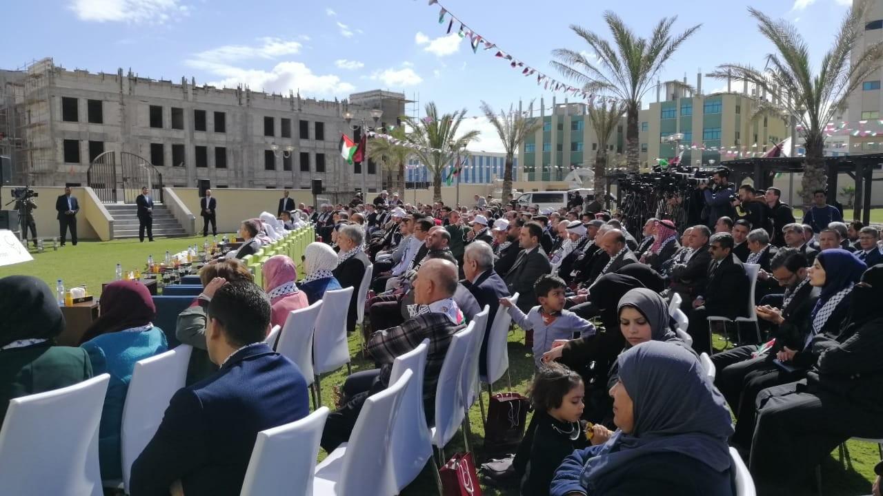 """إعلان بدء تشغيل مستشفى """"الشيخ حمد"""" في غزة"""