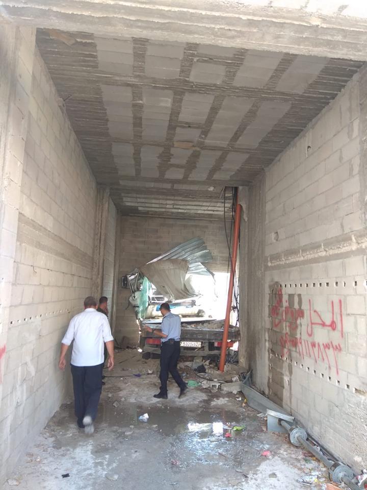 إصابتان خطيرتان في حادث سير ذاتي بنابلس