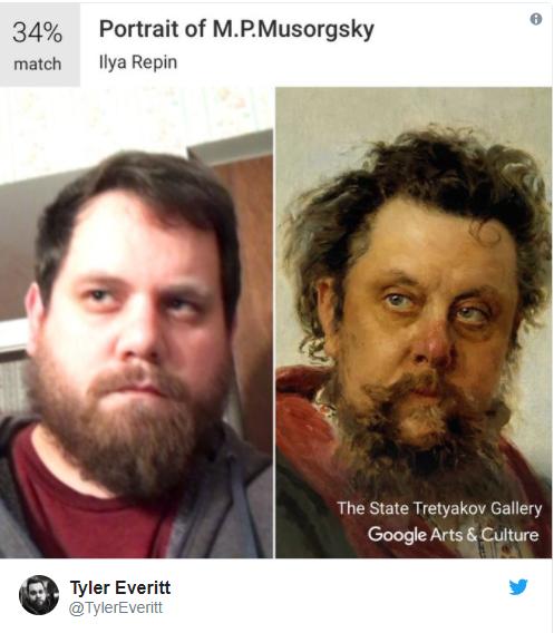 """هل لديك """"شبيه"""" في أحد المتاحف؟ """"Google Arts"""" يعطيك الإجابة"""