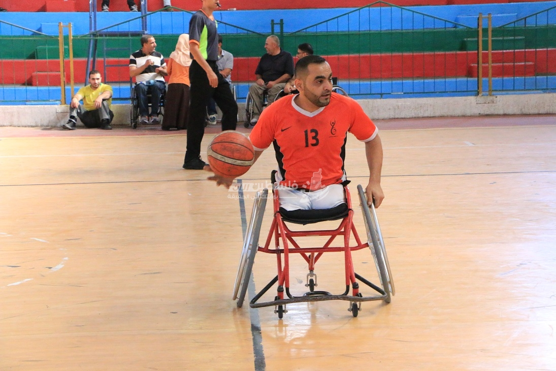 انتصاران للسلام والهلال في دوري السلة للكراسي المتحركة