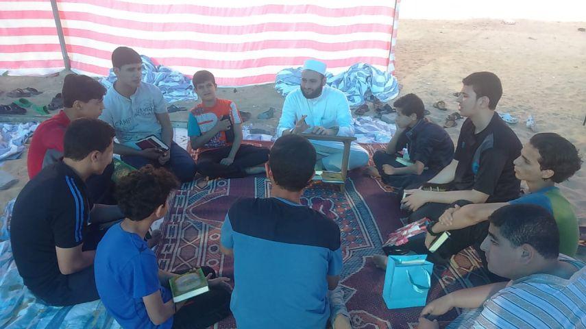 """إطلاق مخيم """"النجباء2"""" لحفظ القرآن غرب غزة"""
