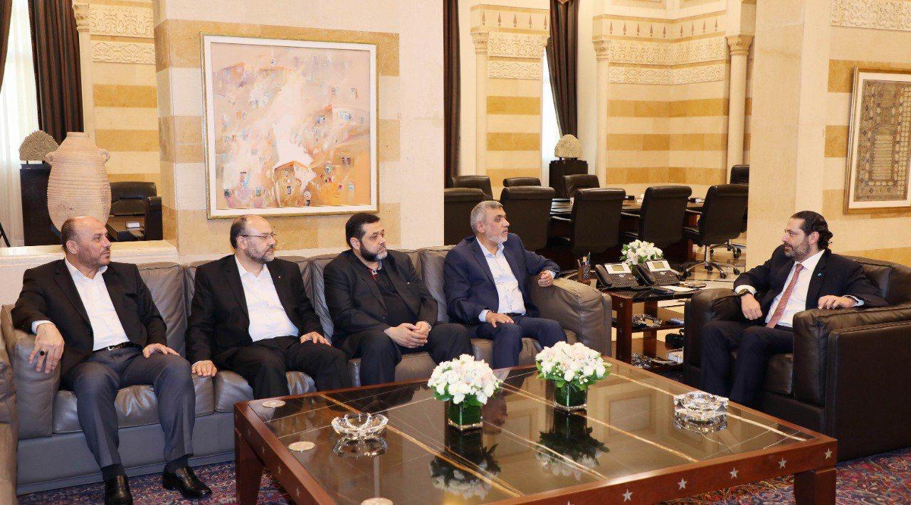 حماس تلتقي الحريري وبري في بيروت