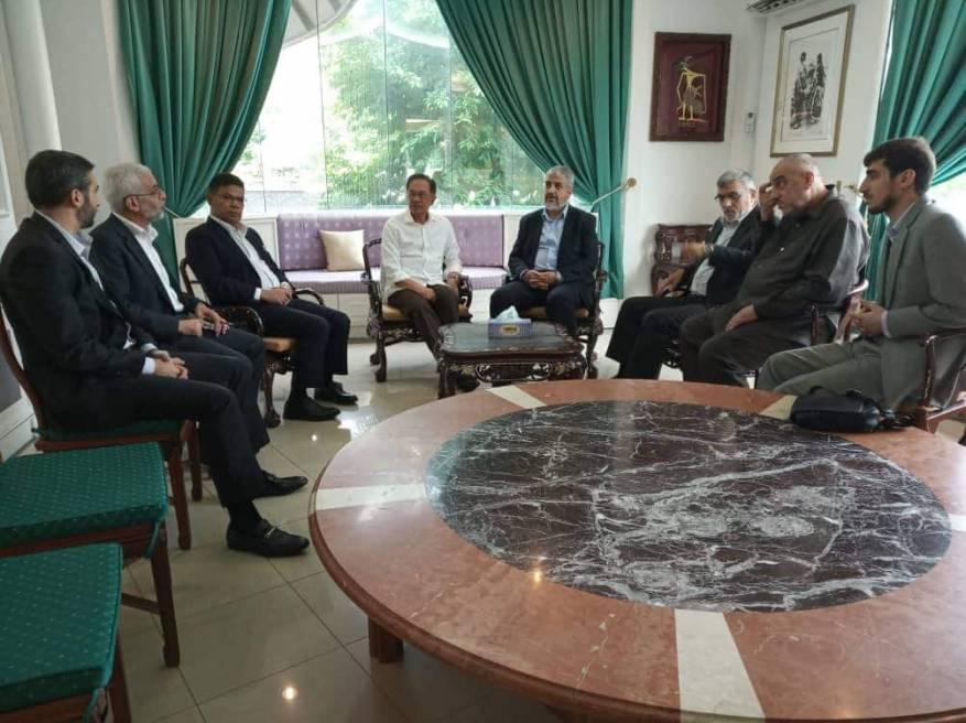وفد حماس يختتم زيارته الرسمية إلى ماليزيا
